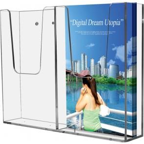 Akryl Brochureholder væg indendørs