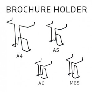 Brochureholder for Infostand A4
