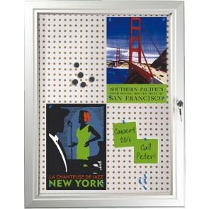 Infobox, opslagsskab Combi med lås 6xA4